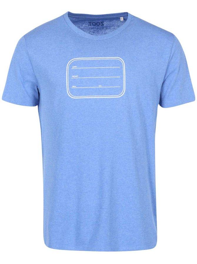 Modré pánske tričko ZOOT Originál Sešit