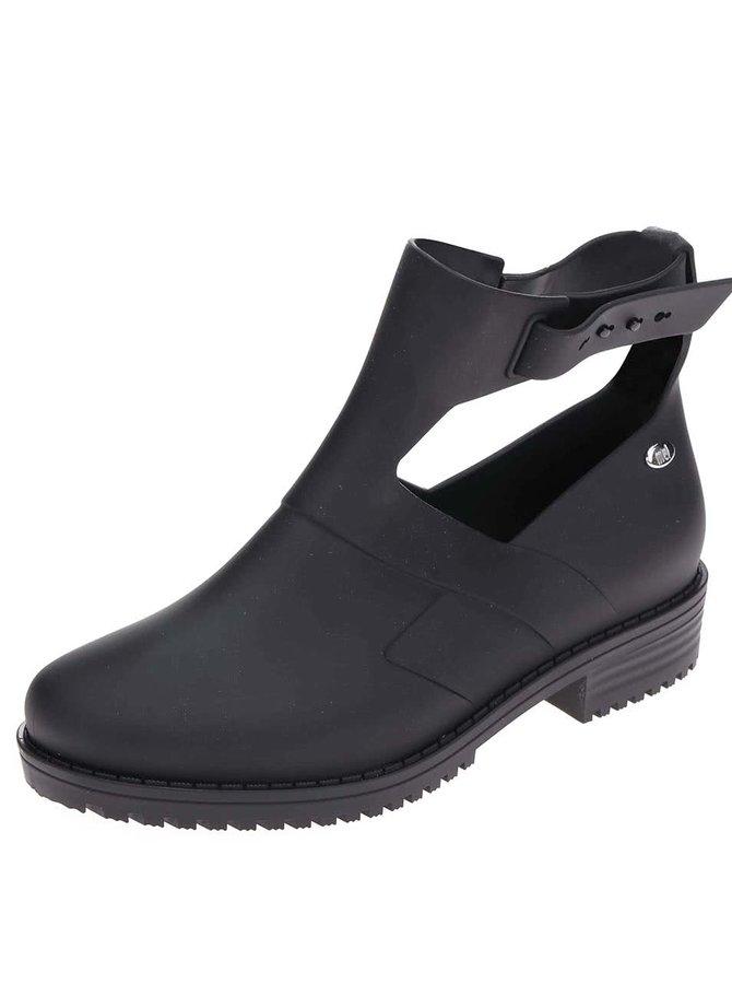 Ghete negre Mel Open Boot