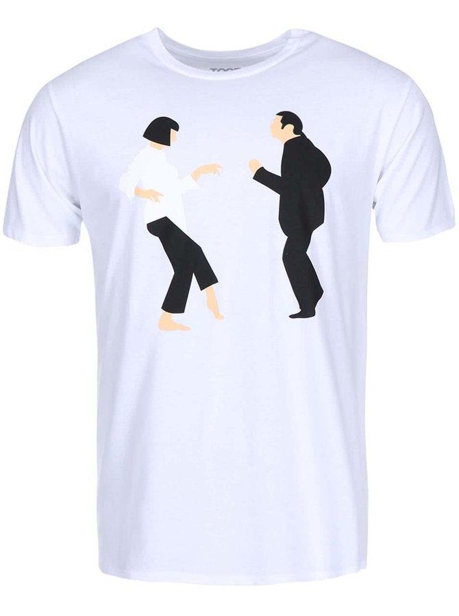 Tricou ZOOT Original Pulp Fiction alb bărbătesc