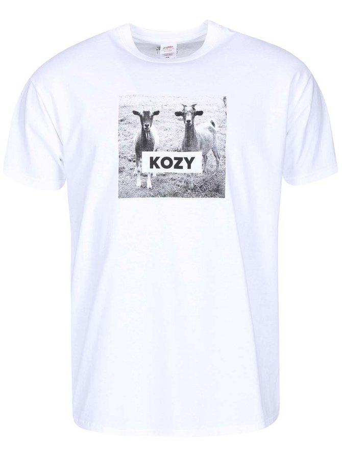 Bílé pánské triko ZOOT Originál Kozy