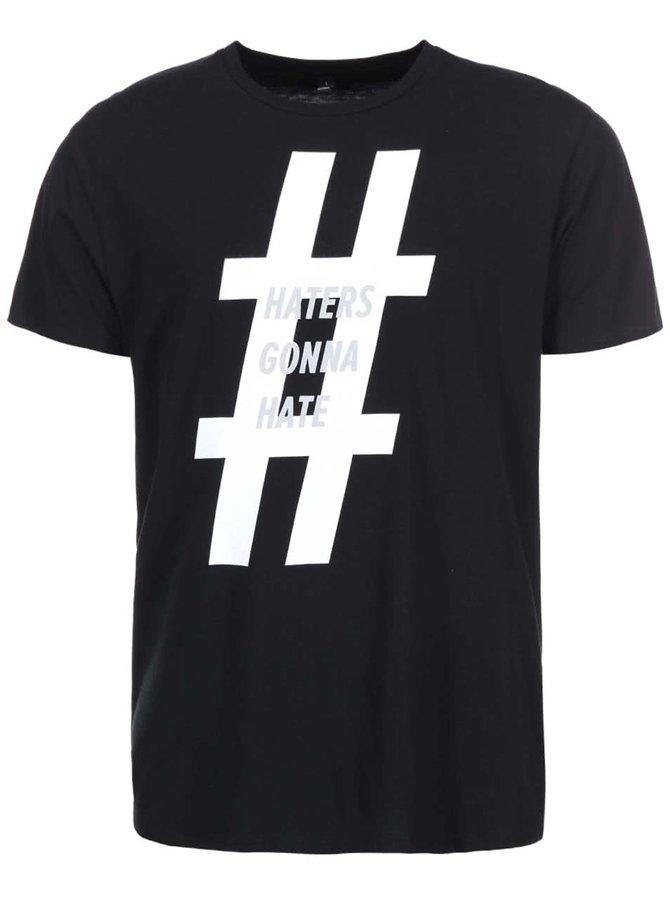 Černé pánské triko ZOOT Originál Haters Gonna Hate