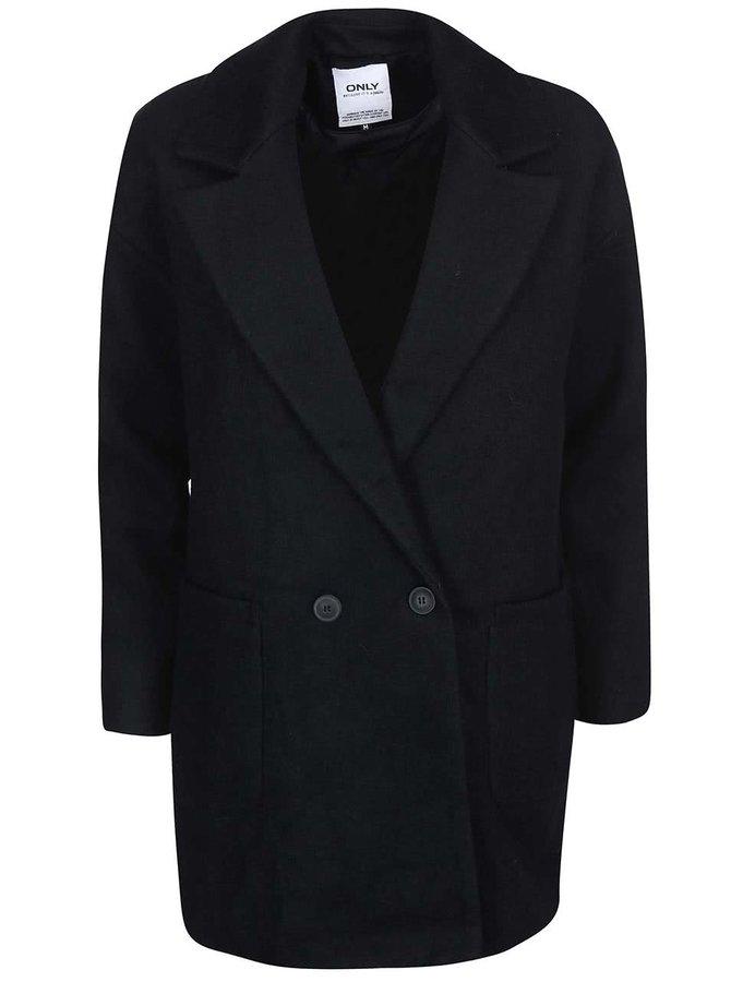 Černý oversize kabát ONLY Covent