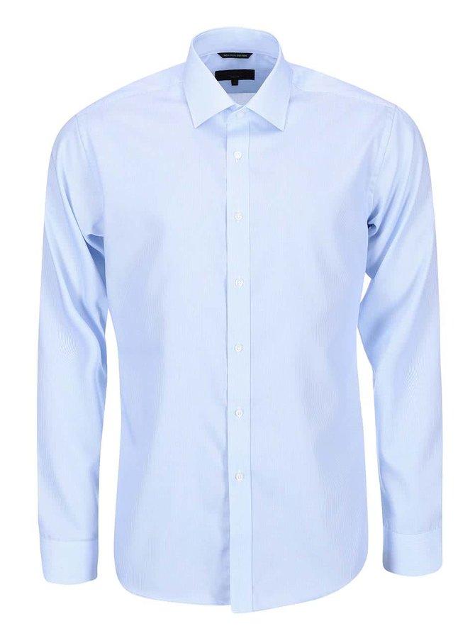 Světle modrá slim fit košile Seven Seas California