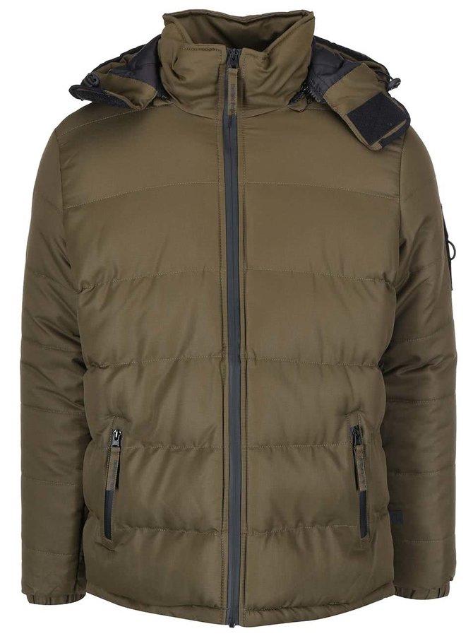Jachetă bărbătească Ludlow kaki cu glugă de la Bellfield