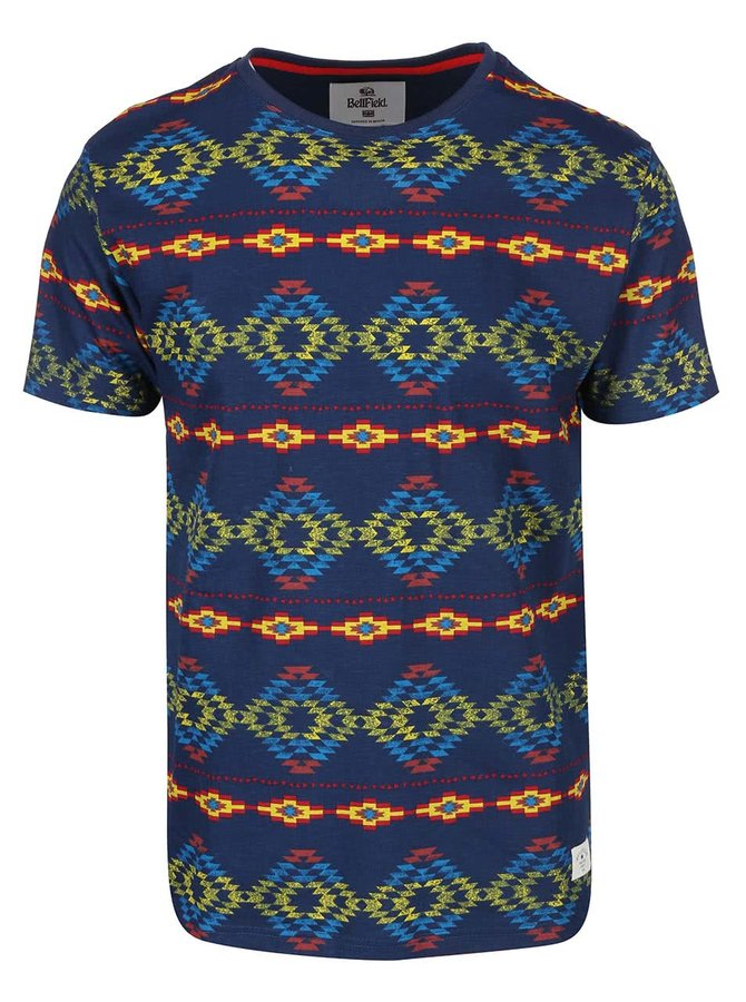Tricou bărbătesc Navajo cu imprimeu colorat de la Bellfield