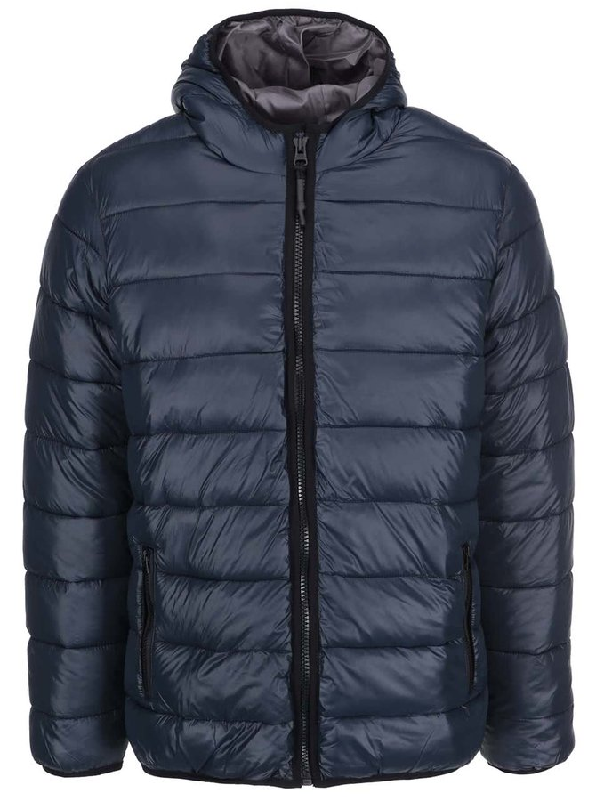 Tmavě modrá bunda Shine Original Puffer