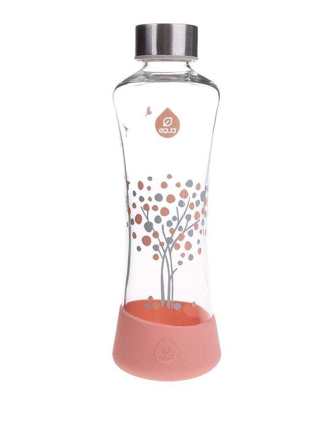 Sklenená fľaša s motívom stromu EQUA SQUEEZE (550 ml)