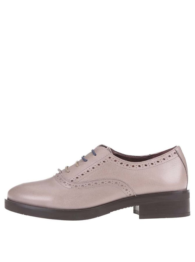 Pantofi brogue bej OJJU