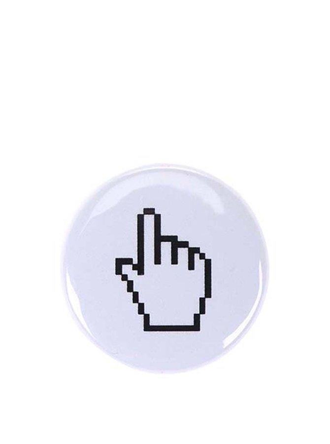 Malá bílá placka ZOOT Originál Kurzor