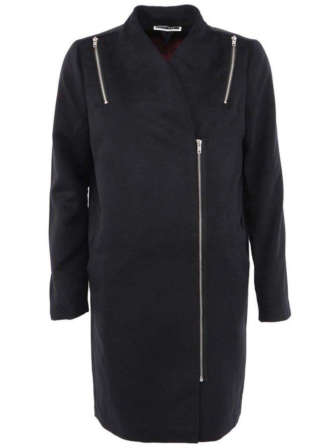 Čierny kabát Noisy May Alicia