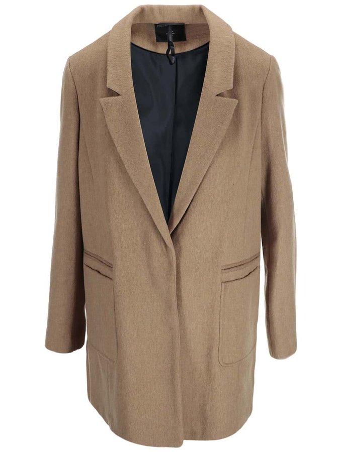 Béžový kabát Dorothy Perkins