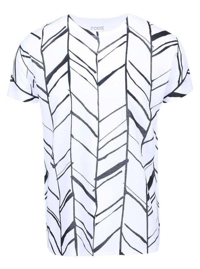 Tricou negru-alb ZOOT Original cu imprimeu