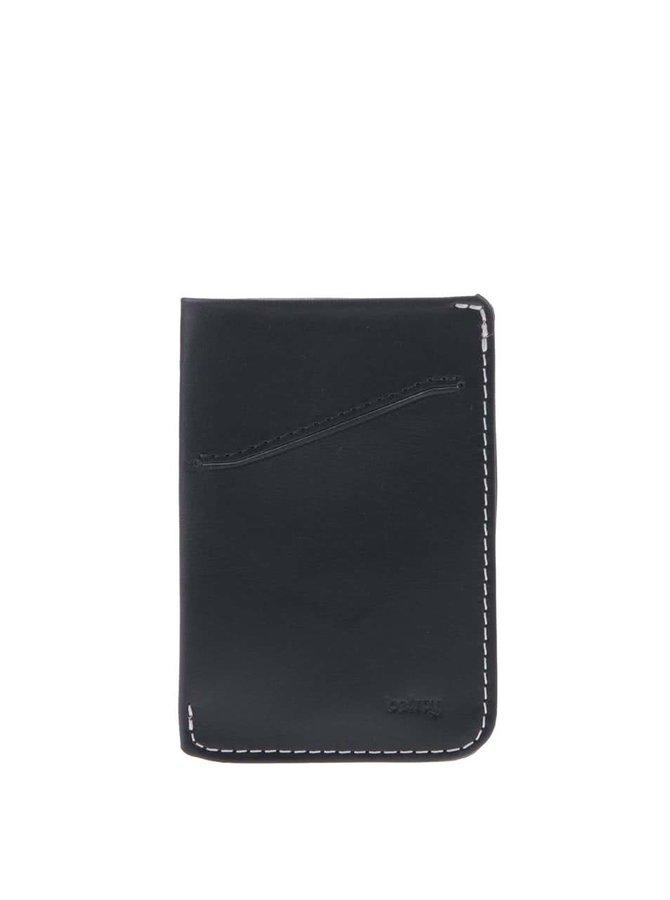 Tmavomodré kožené puzdro na karty Bellroy Card Sleeve
