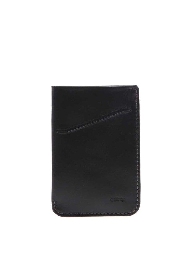 Suport pentru carduri, din piele, Bellroy Card Sleeve - negru