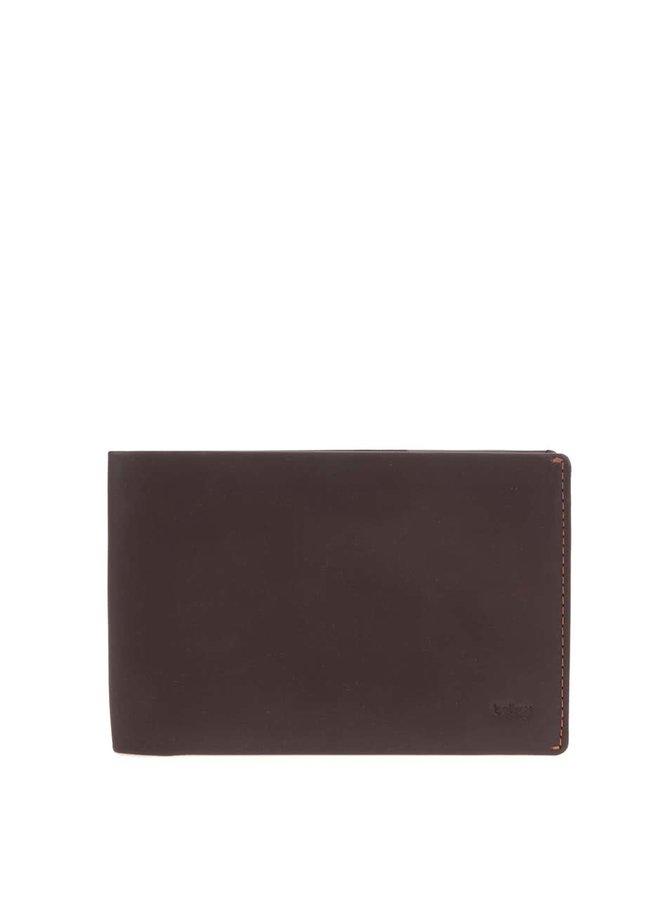 Hnedá kožená cestovná peňaženka Bellroy Travel