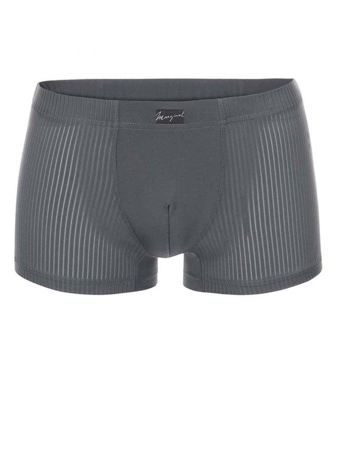 Šedé vzorované boxerky Marginal