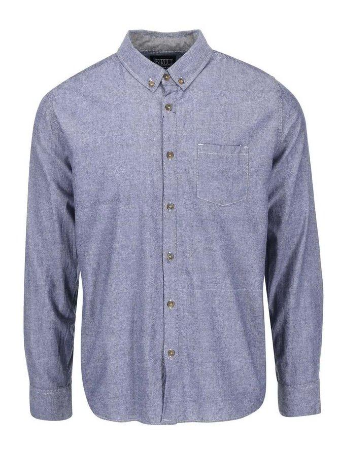Modrá košeľa D-Sruct Calcuta