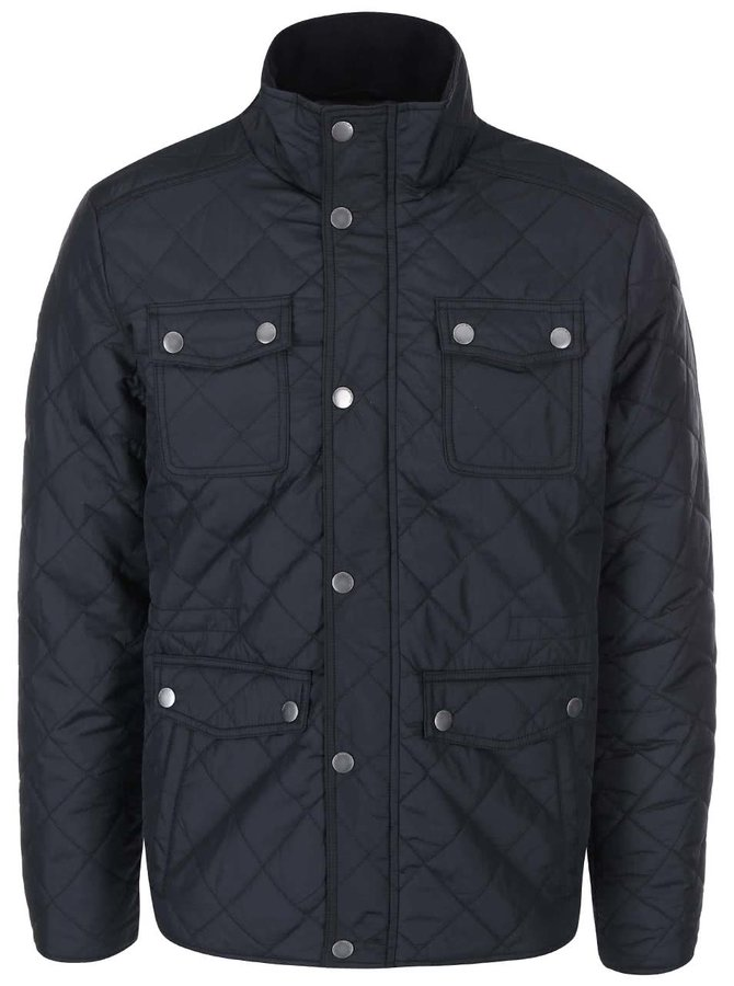 Jachetă matlasată Jack & Jones Steven - negru