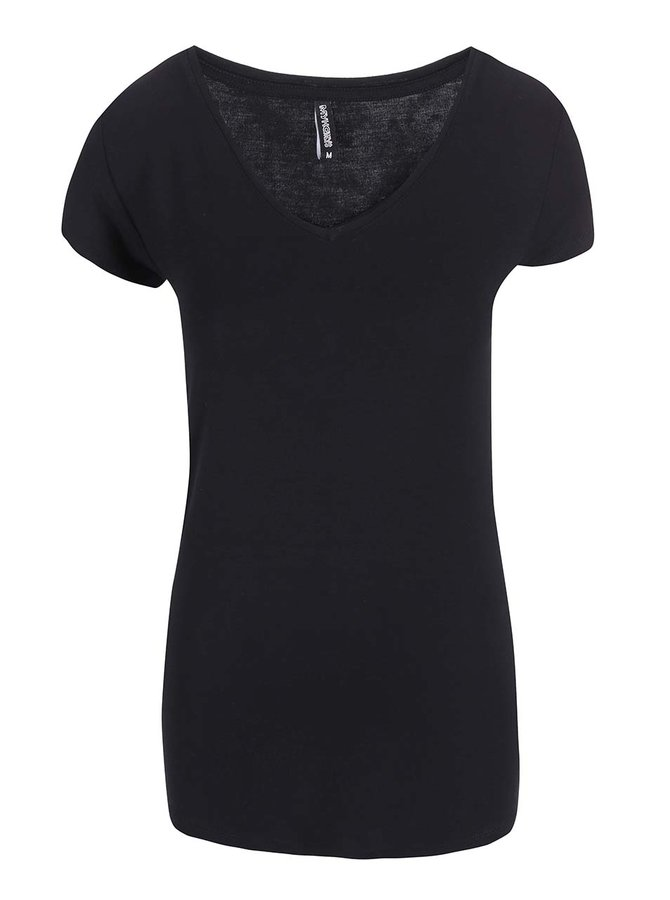 Čierne tričko s krátkym rukávom Haily´s Sophie