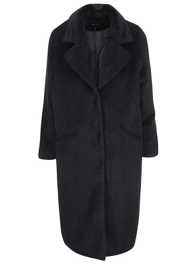 Černý dámský dlouhý kabát Brave Soul Trixie