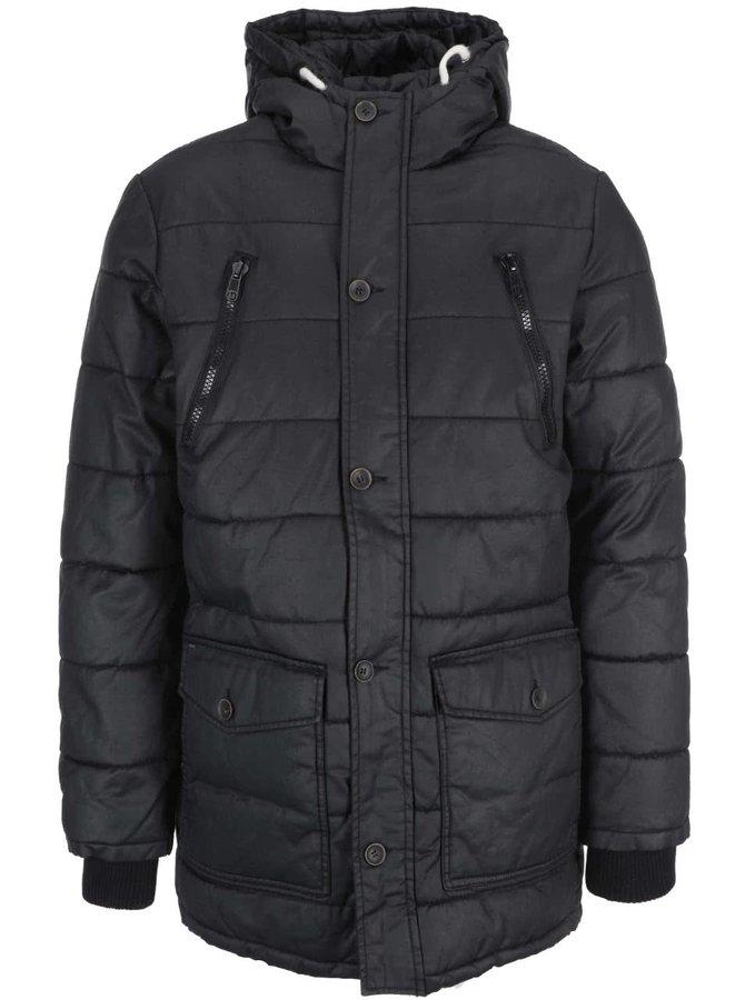 Čierna prešívaná bunda !Solid Rhodes