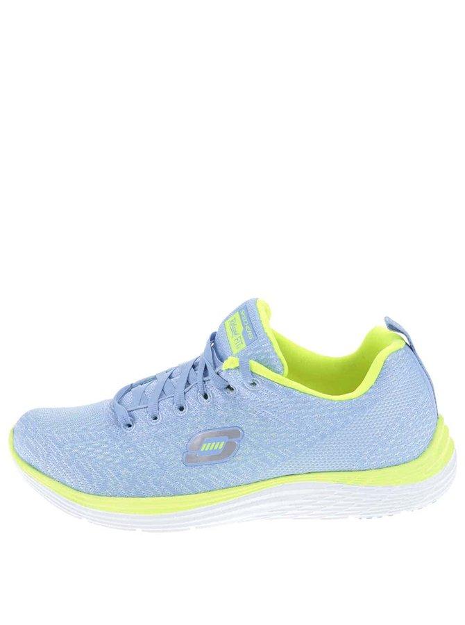 Pantofi sport de damă Skechers Valeris- verde - albastru