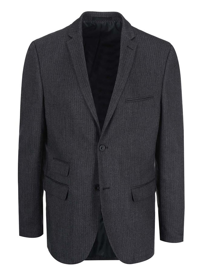 Blazer Casual Friday by Blend - gri-închis