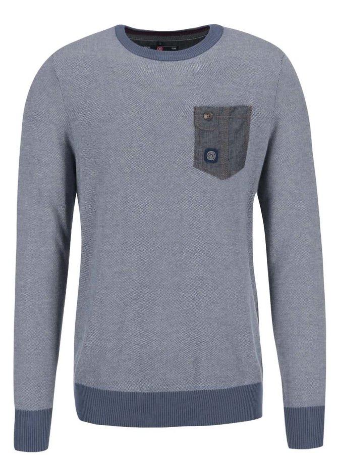 Modrý sveter Twinlife