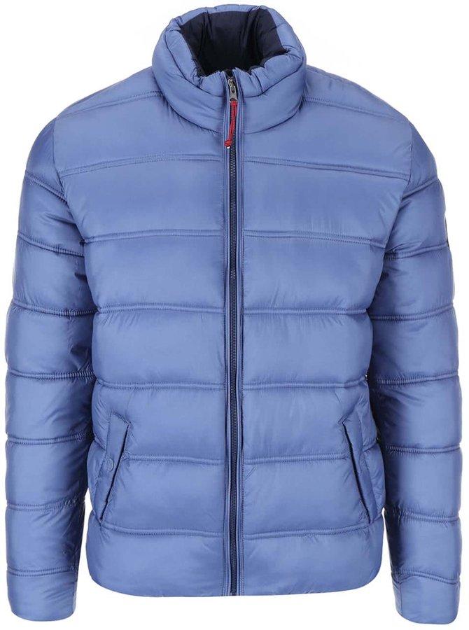 Jachetă matlasată albastră de la Dstrezzed