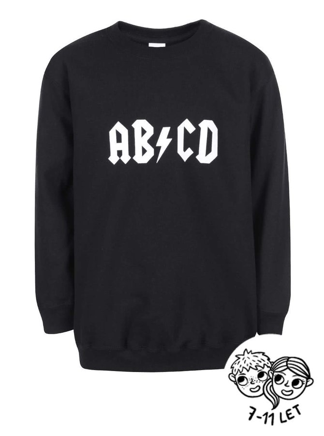 Hanorac pentru copii ZOOT Kids ABCD negru