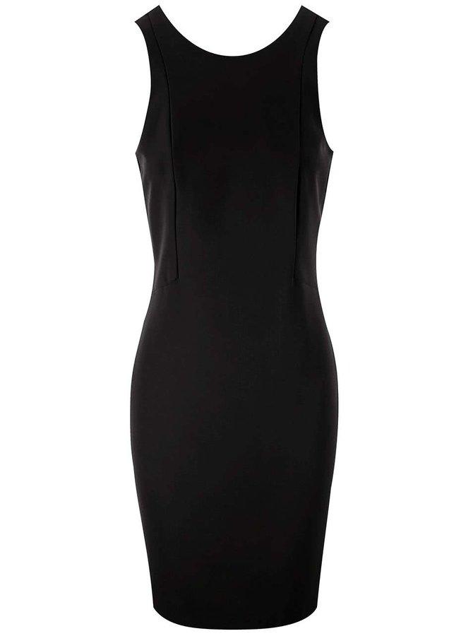Čierne šaty Vero Moda Tennie