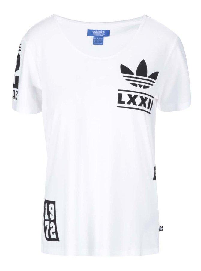 Bílé dámské tričko adidas Originals BRLN Logo