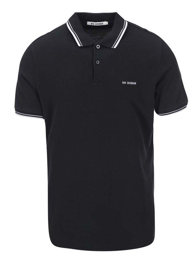 Tricou Polo negru bărbătesc de la Ben Sherman