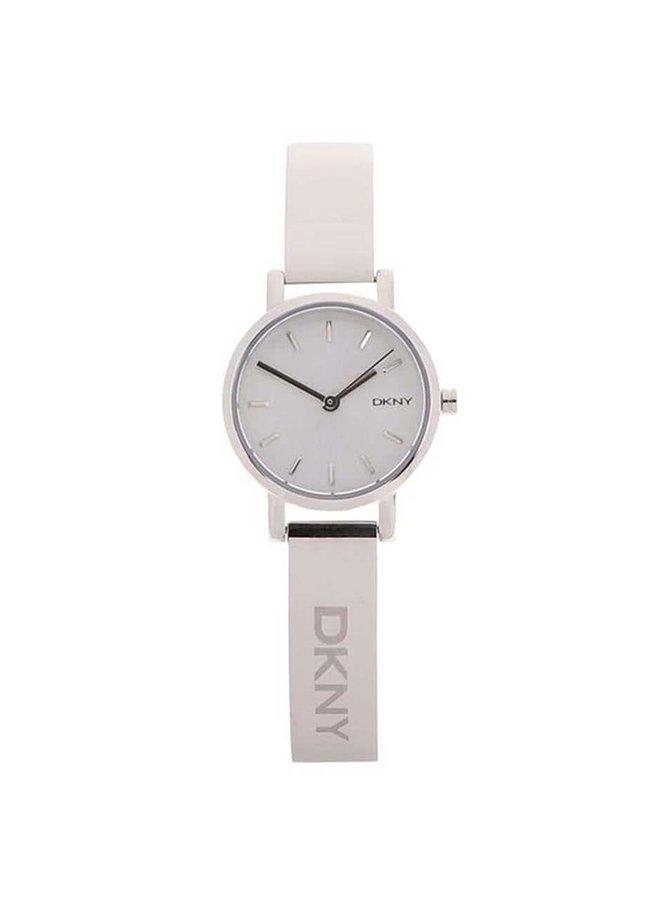 Dámske hodinky v striebornej farbe DKNY Soho