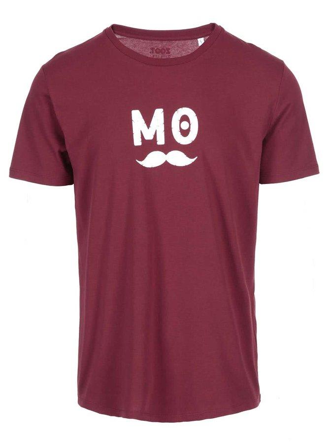Vínové pánské triko ZOOT Originál MO