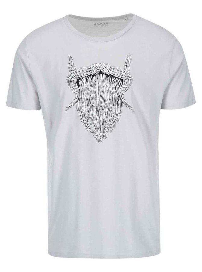 Šedé pánské triko ZOOT Originál Plnovous