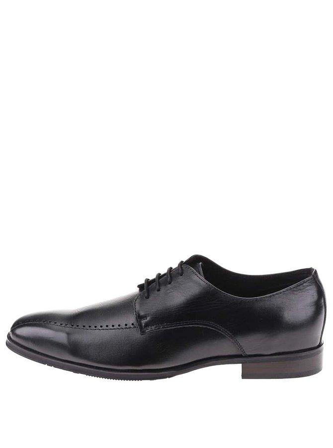 Pantofi negri din piele Dice Coyle