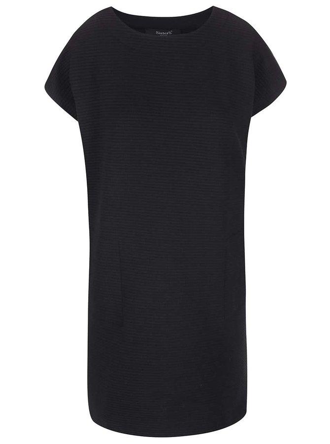 Čierne šaty SisterS Point Gloria