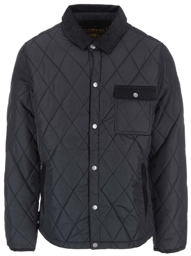 Jachetă matlasată neagră Element Casey