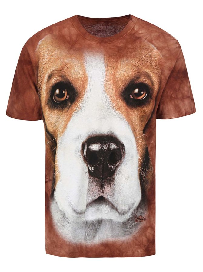 Tricou unisex Beagle, de la The Mountain