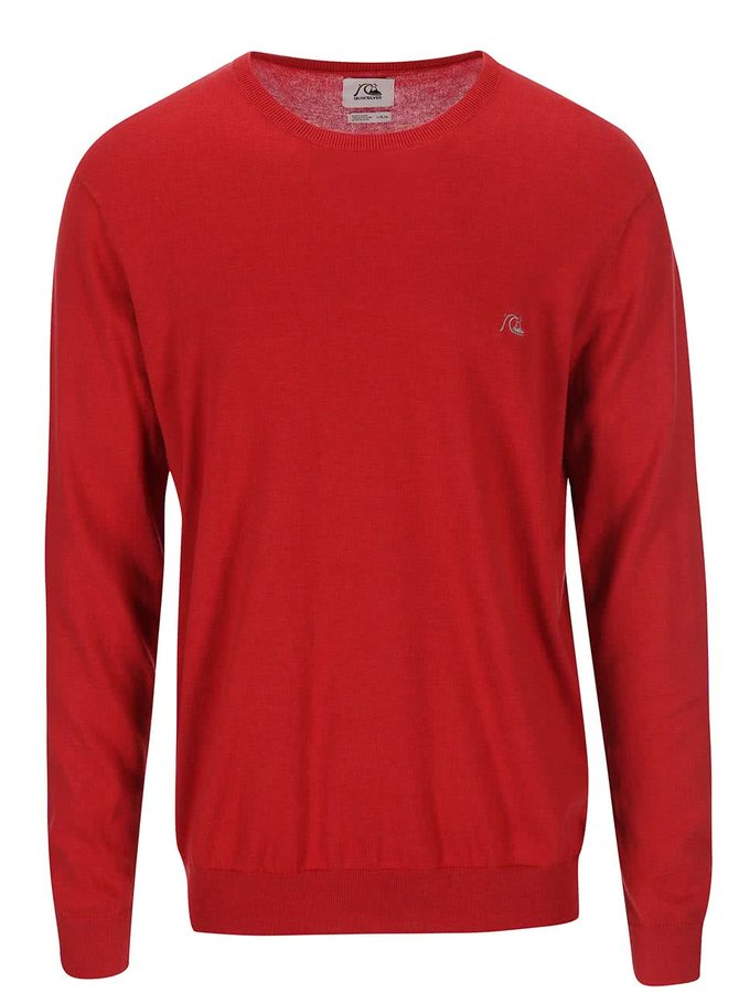 Červený sveter Quiksilver Kelvin