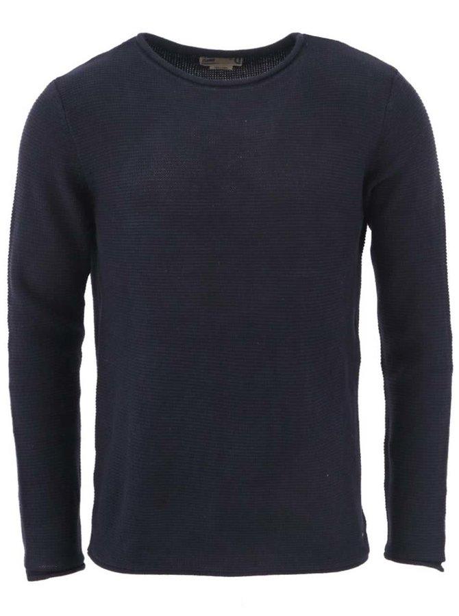 Tmavě modrý svetr !Solid Jarah
