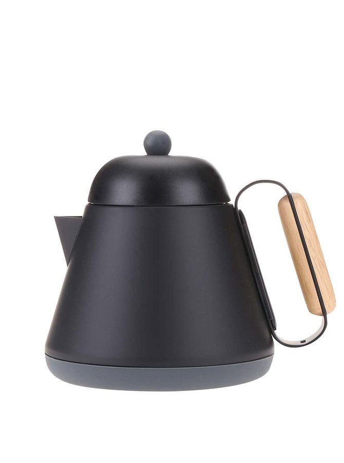 Čierna nerezová kanvica na čaj so sitkom XD Design Teako