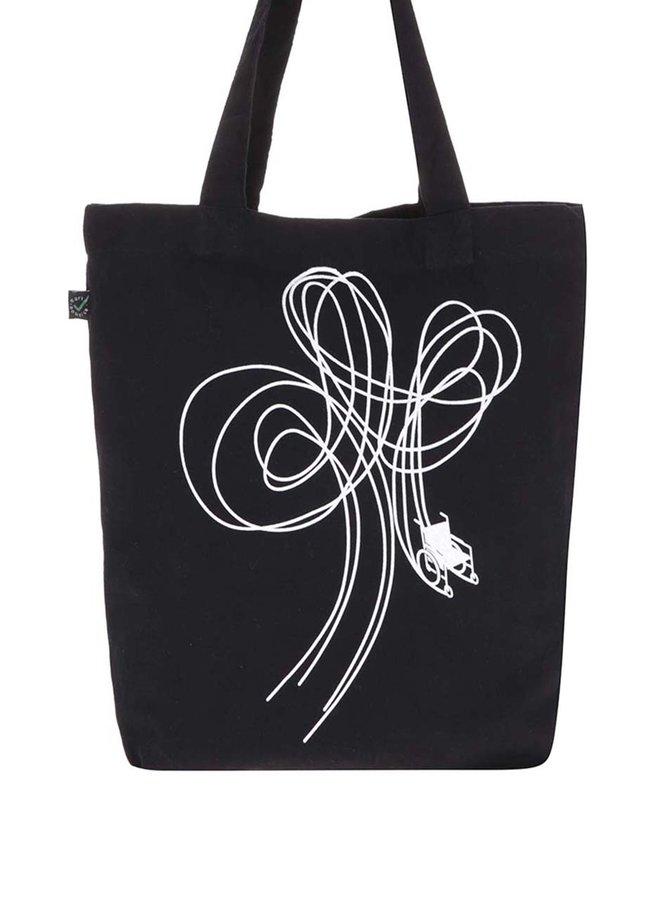 """""""Dobrá"""" čierna platená taška pre Paraple"""