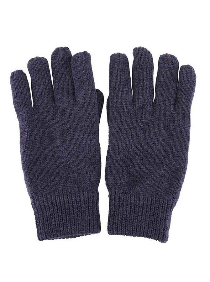 Mănuși bleumarin tricotate Selected Homme Jules