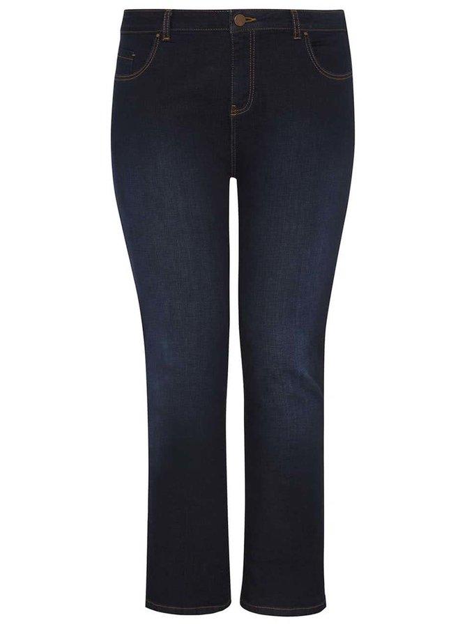 Tmavě modré džíny Dorothy Perkins Curve