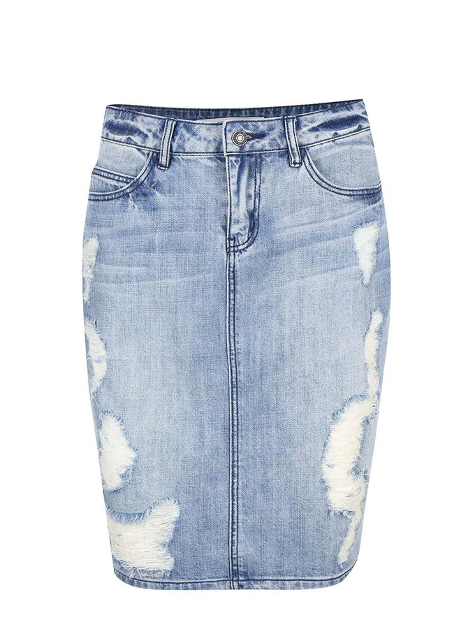 Vero Moda Selma Blue Denim Skirt