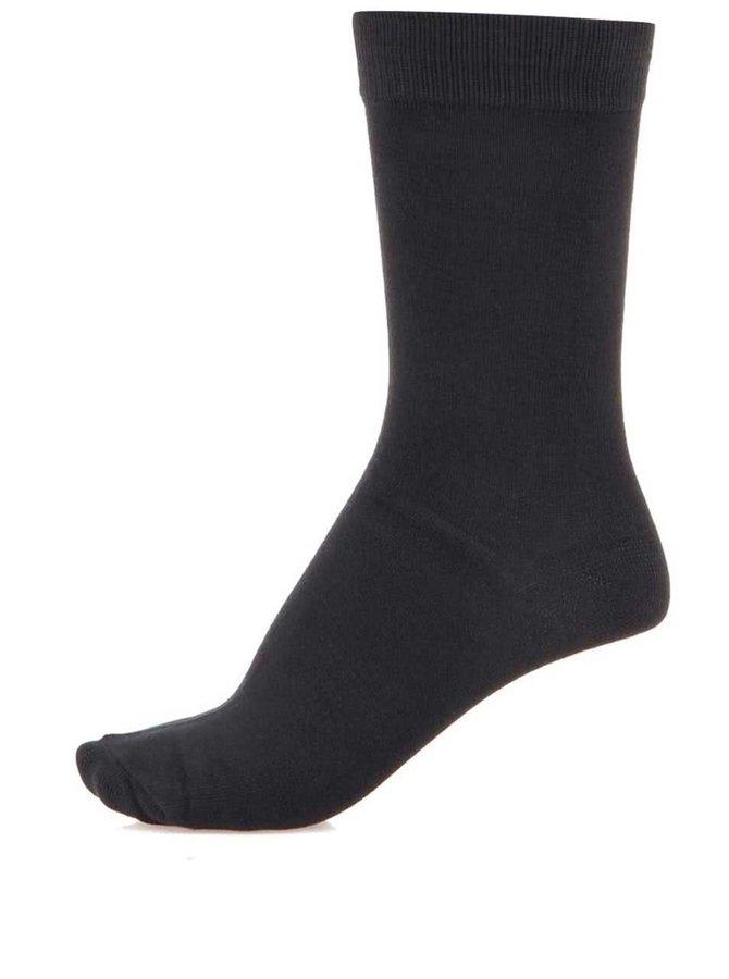 Tmavosivé ponožky Selected Sel