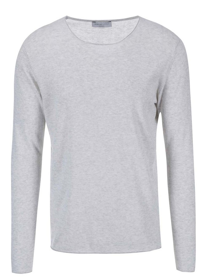 Selected Dome Grey and Beige Melange Jumper