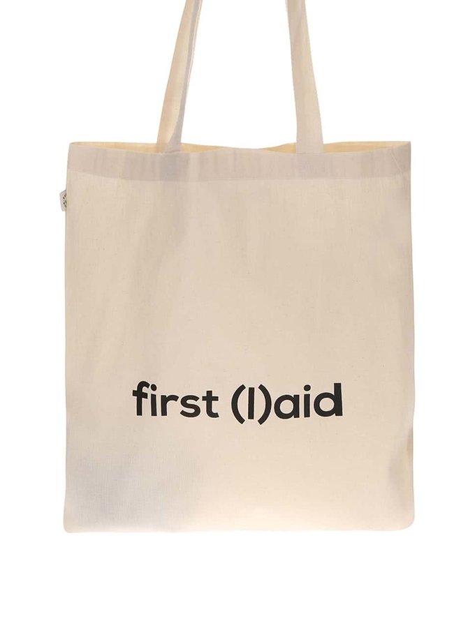 """""""Dobrá"""" krémová taška pre PrPom"""
